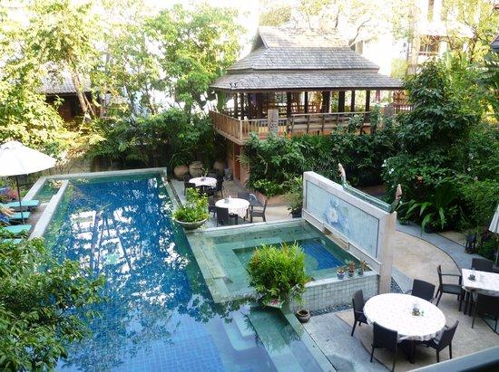 Ariyasomvilla: Our balcony view