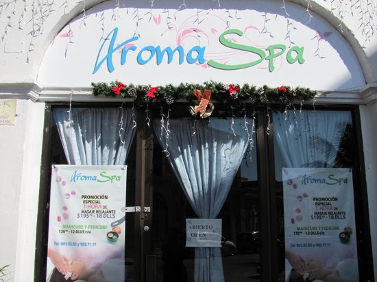 Athina Spa: Front of aroma Spa