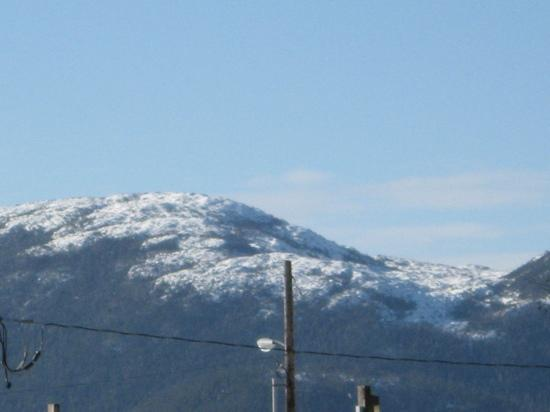 Inn at Creek Street: mountain view from hotel