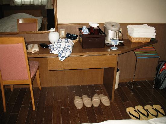 Hotel Tsubakino: extras provided