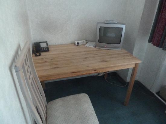 Hotel Europa: Schreibtisch