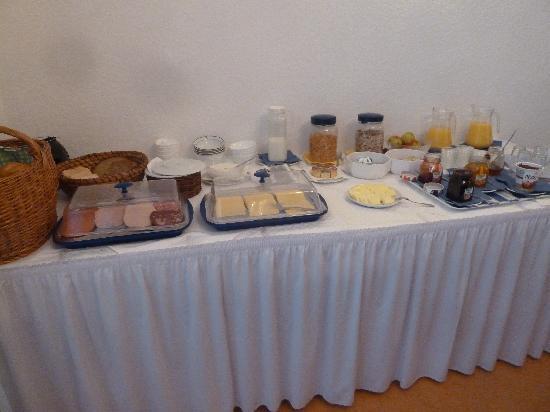 Hotel Europa: Fruehstuecksbuffet