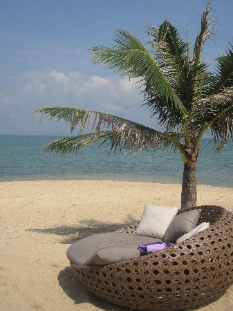 W Retreat Koh Samui: beach couch