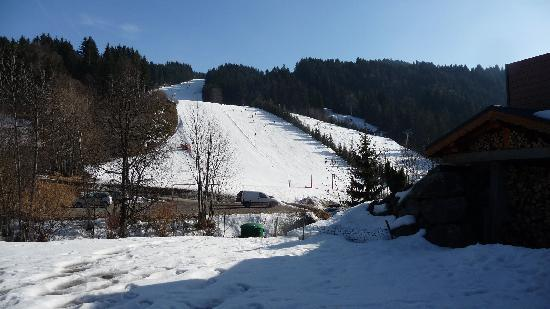 Chalet Martinet : View of the 'red' from the chalet