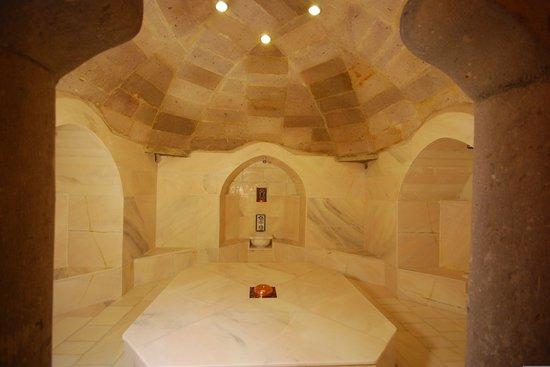 Kale Konak Cave Hotel: Turkish Bath (Hamam)
