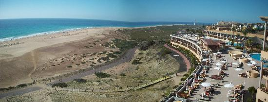 Iberostar Fuerteventura Palace : Sweeping sea views from the top floor