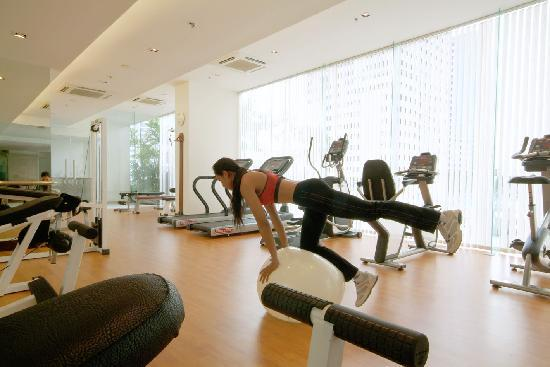 Rembrandt Hotel Bangkok: Fitness Center