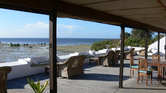 Ibo Island Lodge: Bar area