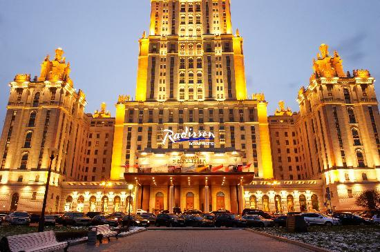 Radisson Royal Hotel Moscow: Radisson Royal Hotel, Moscow - Facade View