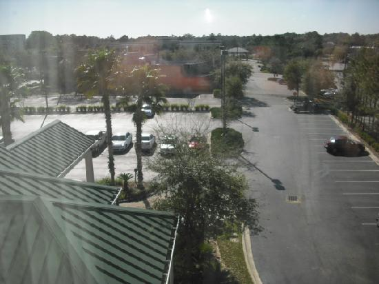 Hilton Garden Inn Jacksonville JTB / Deerwood Park: View from 4th floor window