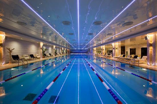 Radisson Royal Hotel Moscow: Royal Wellness Club features Olympic-sized heated 50-metre pool