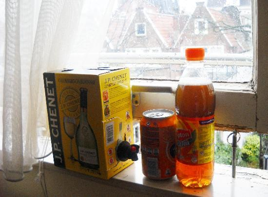 "Amsterdam Hostel Uptown: the ""refrigerator"""
