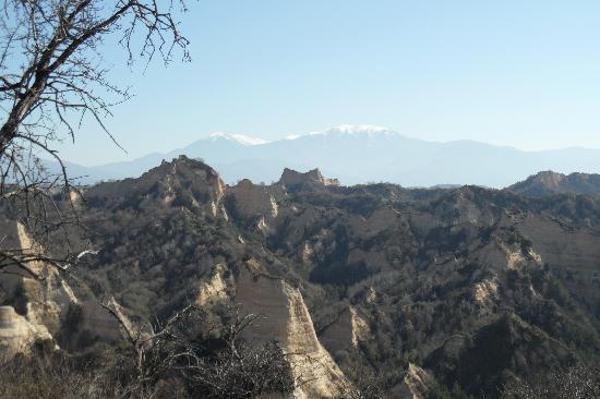 House Pri Stamena: Traumhafte Landschaften zum Wandern und Spazieren um Melnik