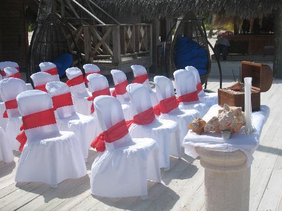 Acqua Beach Club: Wedding location