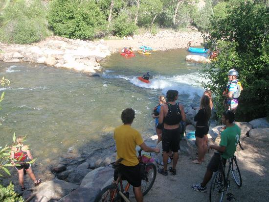 Buena Vista River Park : User of the river park summer 2010