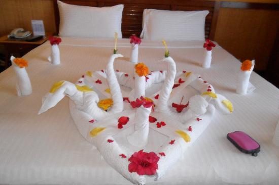 Lido Sharm Hotel: towel display