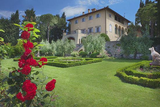 Villa Marcellini: garden