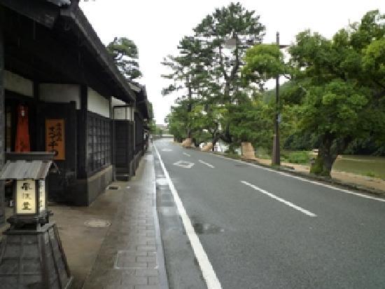 Matsue, Japón: 塩見縄手
