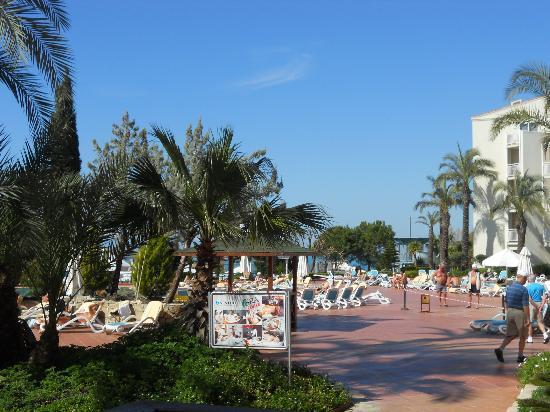 SENTIDO Perissia: Vista dal bar della piscina