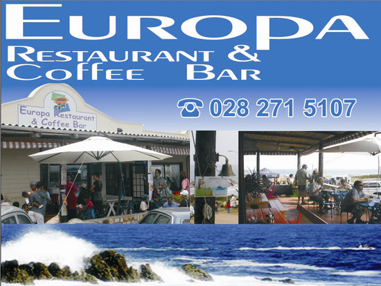 Europa Restaurant and Coffee Bar: Front entrance