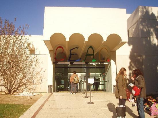 Fondation Joan Miró (Fundació Joan Miró) : Ingresso Museo
