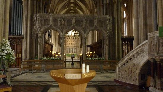 بريستول, UK: Interno della cattedrale anglicana