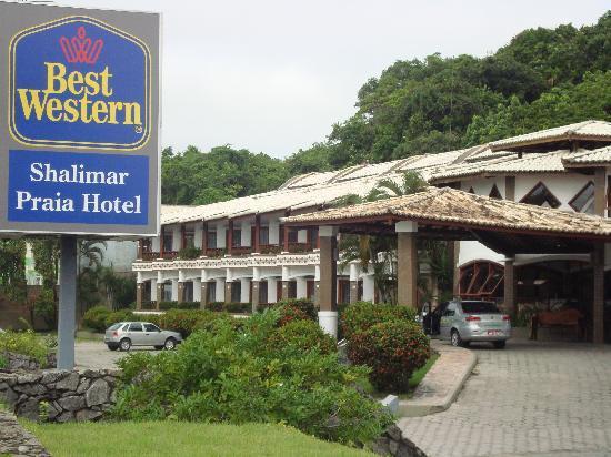 BEST WESTERN Shalimar Praia Hotel: Frente do Hotel