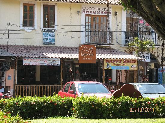 Outside view of Kabana Bar & Grill