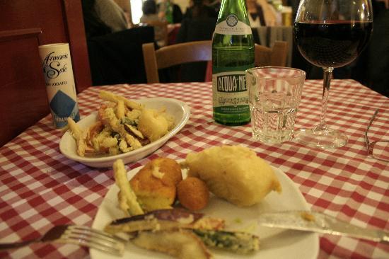 L'Osteria di Cicerone: table top