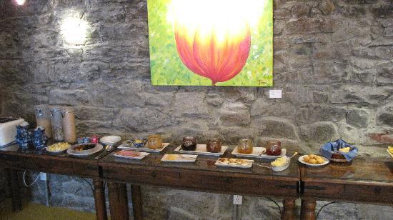 Auberge Bonsecours: Buffet du petit déjeuner