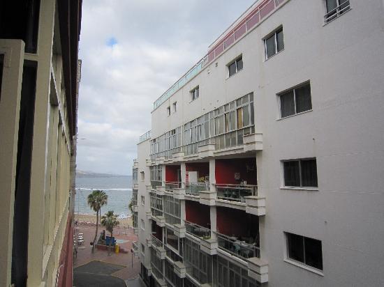 Hotel Atlanta : vistas desde el balcón
