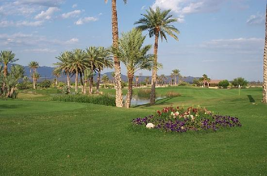 ‪دوريغو سبرينغس ريزورت آند سبا: View of the golf course‬