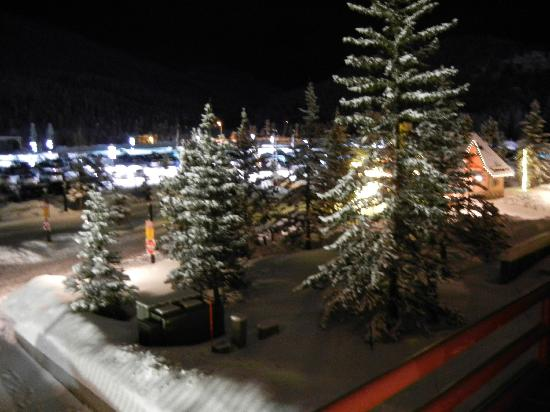 River Run Village: Night-time view from the balcony
