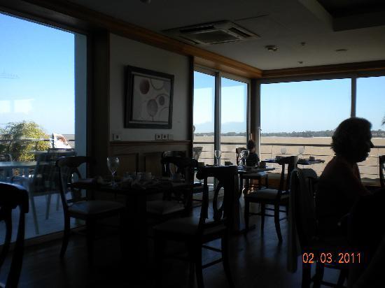 Del Carmen: View from restaurant