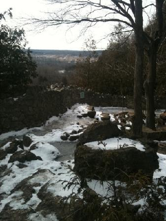 Rattlesnake Point Conservation Area: icy trail