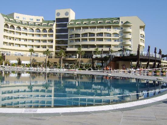Amelia Beach Resort & Spa: Hotel, pool and pool bar