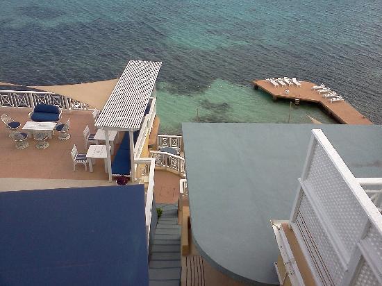 Moxons Beach Club: Moxon's view