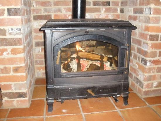 Potash Barns: The brilliant woodburner