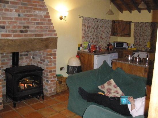 Potash Barns: The open plan Kitchen Diner/Lounge