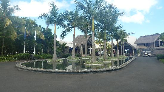 Maritim Resort & Spa Mauritius: juste l'entrée