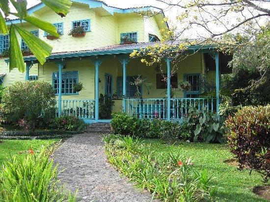 Casa de las Tias: Front entrance
