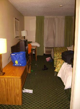 Fairfield Inn & Suites South Bend Mishawaka: beds