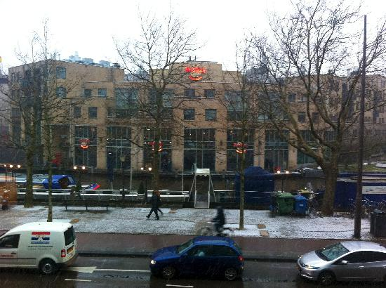 Park Hotel Amsterdam: View from our room.