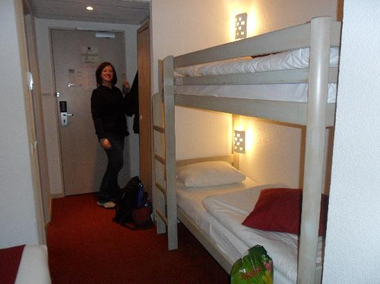 Kyriad A Disneyland Paris: My bunk beds