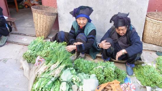 Yuanyang Pengtian: 付近の村にて