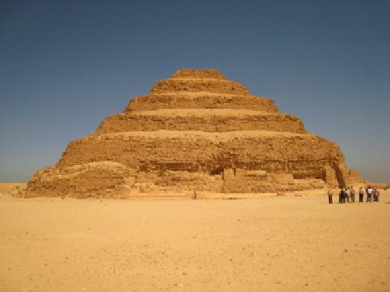 Pyramides de Saqqarah : Step