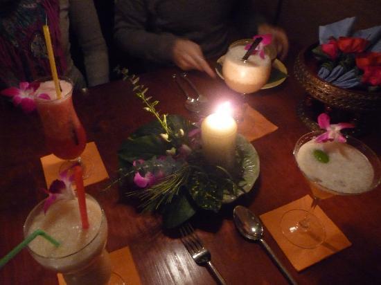 Floating Market: Tropical Drinks