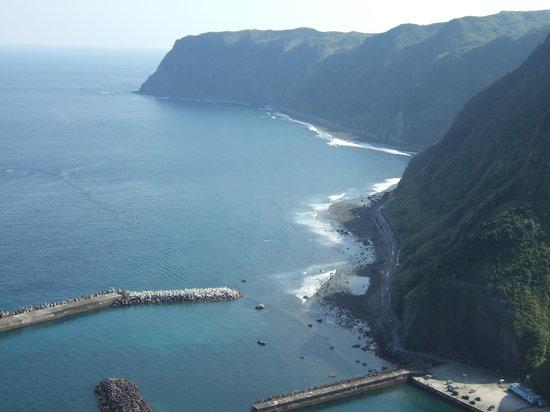 Hachijo-jima, Japonya: 展望台からの眺めは爽快