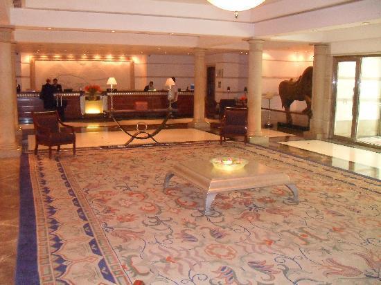 ITC Maratha, Mumbai: The Reception/Lobby area