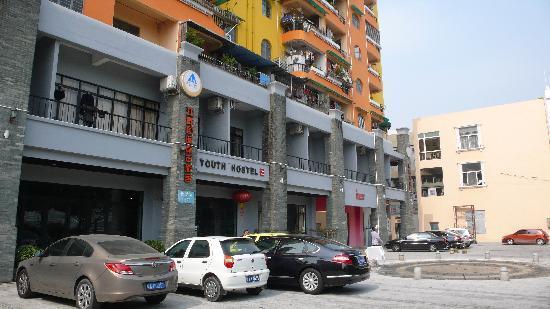RiverSide YHA: Front of Hostel